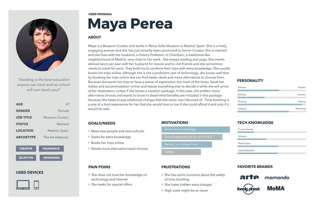 Maya Perea persona