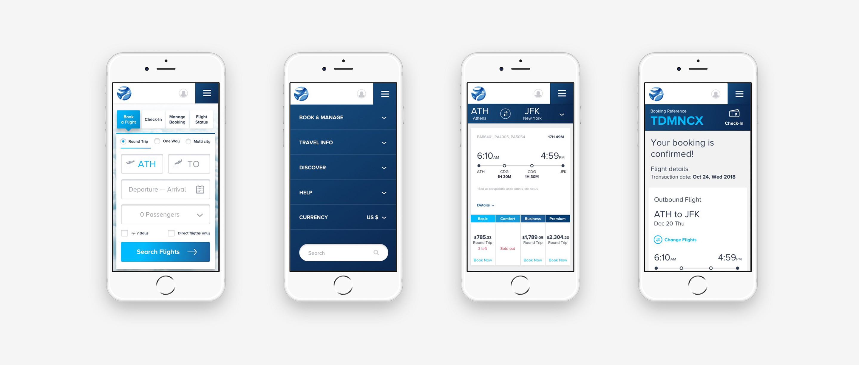 Mobile Design UI