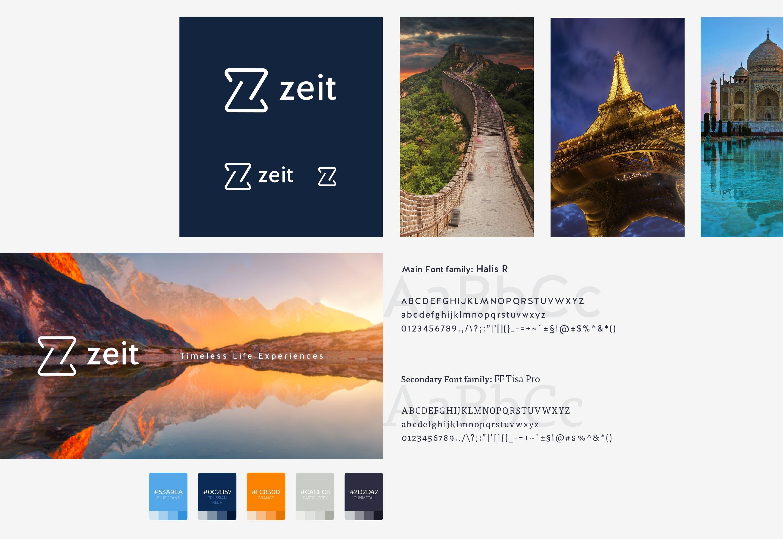 ZEIT Brand ID